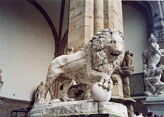 Medici lions - Fancelli's ancient lion