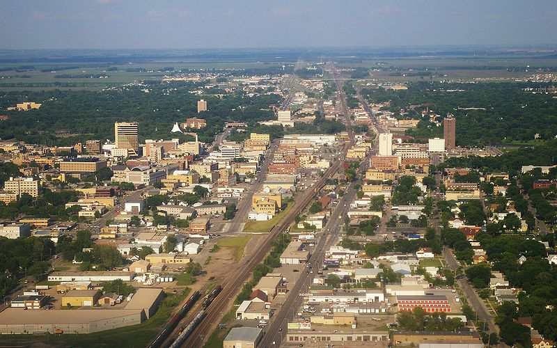 File:Fargo ND Downtown overview.jpg