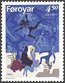 Faroe stamp 309 the temptations of saint antony.jpg