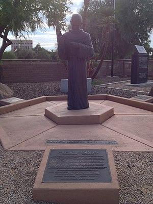 Albert Braun - Father Albert Braun Memorial in Wesley Bolin Memorial Plaza, Phoenix, Arizona