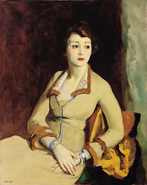 Fay Bainter - Portrait of Fay Bainter by Robert Henri (1918)