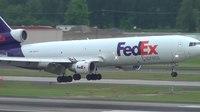 File:FedEx N624FE MD-11 Landing Portland Airport (PDX).ogv