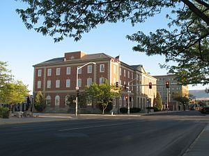 National Register of Historic Places listings in Natrona County, Wyoming - Image: Federal Courthouse in Casper, WY USA