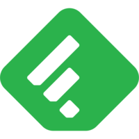 Logo de Feedly