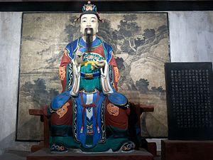 Fei Yi - Statue of Fei Yi in the Zhuge Liang Memorial Temple in Chengdu, Sichuan