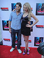 Femme Fatales Red Carpet - Aiden Simko and Madison Dylan (7188794691).jpg