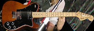 Fender Telecaster Deluxe - Image: Fender Telecaster Deluxe (clip) (horizontal)