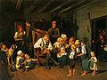 Ferdinand Georg Waldmüller Grandfathers Birthday 1849.jpg