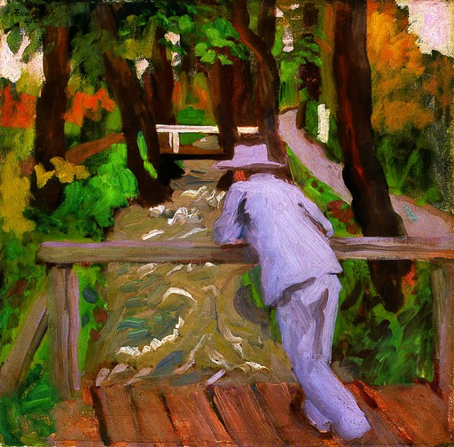 Ferenczy Man on the Bridge 1912