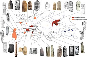 Megalithic art - Image: Fig. 9 mapa