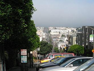 Fillmore Street - Fillmore Street between Marina Boulevard and Broadway Street