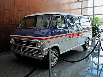 FedEx - Fedex's first van displayed at the FedEx World Headquarters