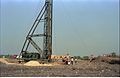 First Piling - Convention Centre Complex Under Constrution - Science City Site - Calcutta 1994-01-29 416.JPG
