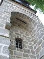 Flayat egliseStMartin clocher face ouest.jpg