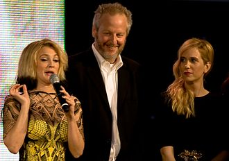 Daniel Stern (actor) - Daniel Stern with Kristen Wiig and Drew Barrymore at 2009 Toronto International Film Festival