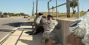 Flickr - The U.S. Army - Taking cover at Fort Hood