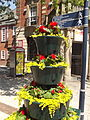 Floral displays - Broad Street, Birmingham - Sheepcote Street - Big Bite (9320996187).jpg