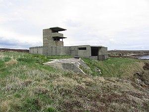Flotta - The Buchanan Battery on Flotta
