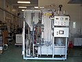 Fluidized bed biomass gasification plant - Front wiew.jpg