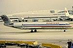 Fokker 100 - N1424M - American - ORD (16185905801).jpg