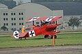 Fokker Dr.I Manfred Richthofen Taxi out 03 Dawn Patrol NMUSAF 26Sept09 (14599281742).jpg