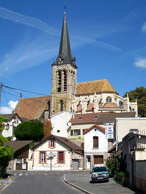 Fontenay-en-Parisis - The church of Saint-Aquilin, in Fontenay-en-Paris