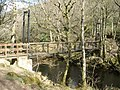 Footbridge, across the River Teign - geograph.org.uk - 1251086.jpg