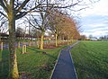 Footpath along Winklebury playing fields - geograph.org.uk - 660310.jpg