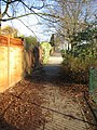 Footpath at the rear of Tiverton houses - geograph.org.uk - 1065952.jpg
