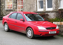 Ford Mondeo Mk III registered September 2001 1798cc license plate changed but year code correct.jpg
