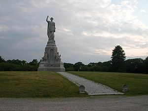 National Monument to the Forefathers - Image: Forefathers Monument 2