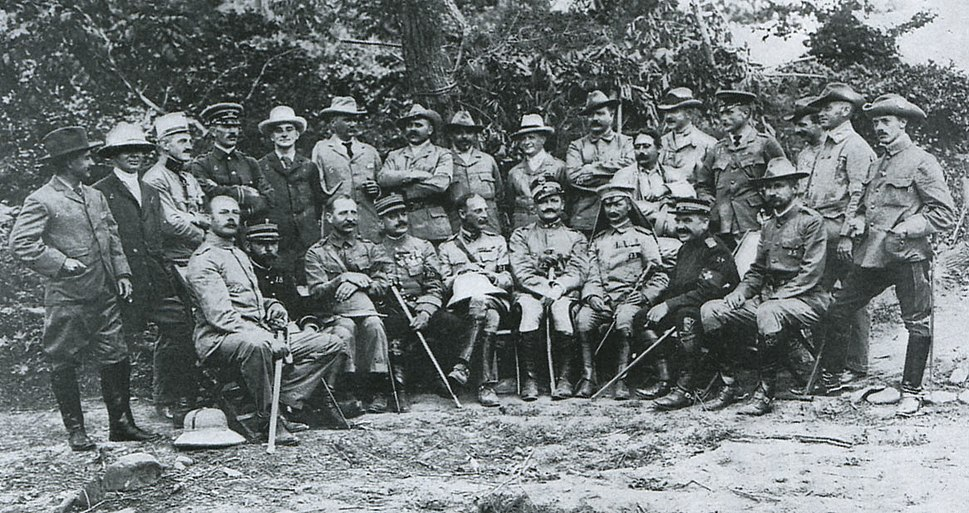 Foreign Officers and Correspondents after the Battle of Shaho