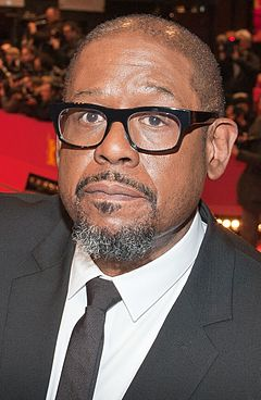 Forest Whitaker won for his portrayal of Idi Amin in The Last King of Scotland (2006). Forest Whitaker 2014.jpg