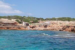Formentera - Image: Formentera cliffs