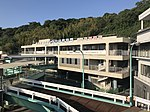 Former Sakurajima Port Ferry Terminal from pier 2.jpg
