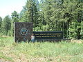 Fort Apache Indian Reservation entrance.JPG