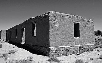 Lyon County, Nevada - Ruins at Fort Churchill State Historic Park