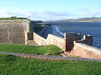 Fort George and the coast alongside - geograph.org.uk - 1410711.jpg