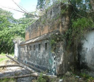 Bangka Island - Ruins of the Dutch Fort in Toboali, built in 1825