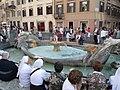 Fountain near Column of Marcus Aurelius, Rome (9161021505).jpg