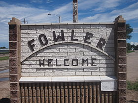 Fowler, CO, welcome sign IMG 5635.JPG