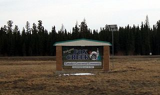 Fox Creek, Alberta Town in Alberta, Canada
