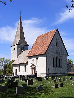 Fröjel Church - Image: Fröjel kyrka