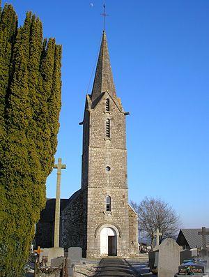 La Bazoge, Manche - The church of Saint-Martin