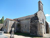 France - 17 - Beaugeay - Église Saint Germain.JPG