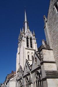 France - Loiret - Montargis - L'église.JPG