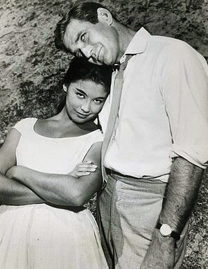 France Nuyen - With Rod Taylor, in Hong Kong (1960)
