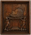 Francesco giolfino, la testa del battista portata in cielo dagli angeli, verona 1500 ca.jpg