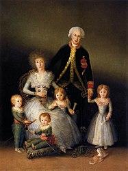Francisco de Goya: Los duques de Osuna y sus hijos