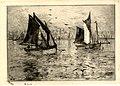 Frank Boggs, Petits voiliers, fin du XIXe-début du XXe siècle, Musée d'art et d'histoire de la ville de Meudon.jpg